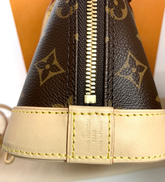 Louis Vuitton Alma BB Monogram Canvas Bag