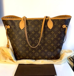 Louis Vuitton Neverfull Monogram Canvas Bag