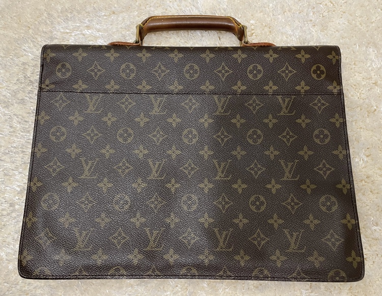 Louis Vuitton Brown Monogram Serviette Conseiller Attache Briefcase