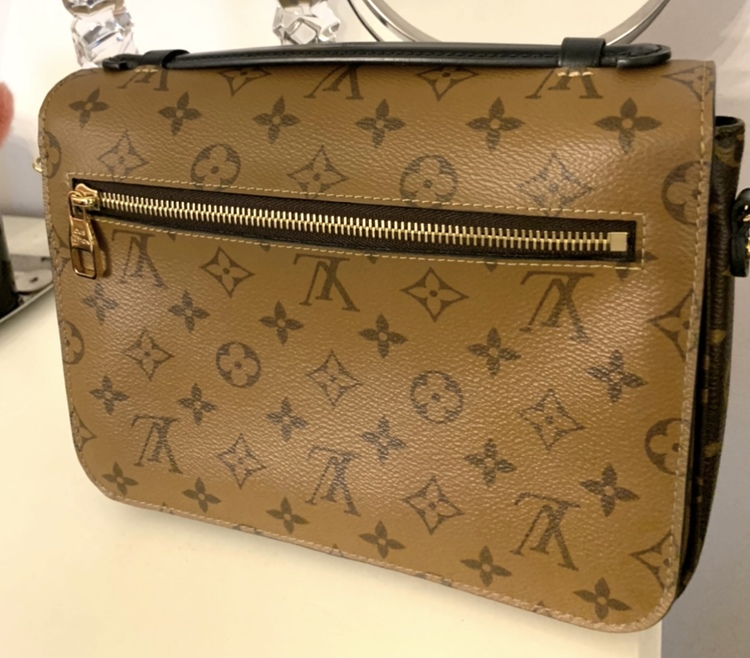 Louis Vuitton Metis Reverse Monogram Canvas Bag