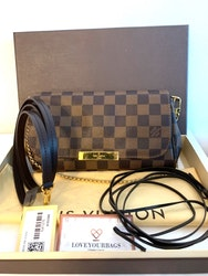 Louis Vuitton Favorite PM Damier Ebene Canvas Bag
