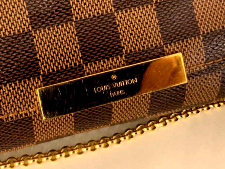 Louis Vuitton Favorite PM Damier Ebene Canvas Bag