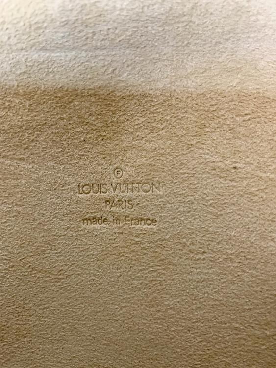 Louis Vuitton Florentine  Monogram Canvas Pochette
