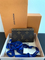 LV Card Holder Monogram Reverse