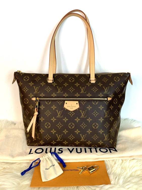 Louis Vuitton IENA MM Monogram Canvas Bag