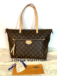 Louis Vuitton IENA MM Monogram Canvas Bag
