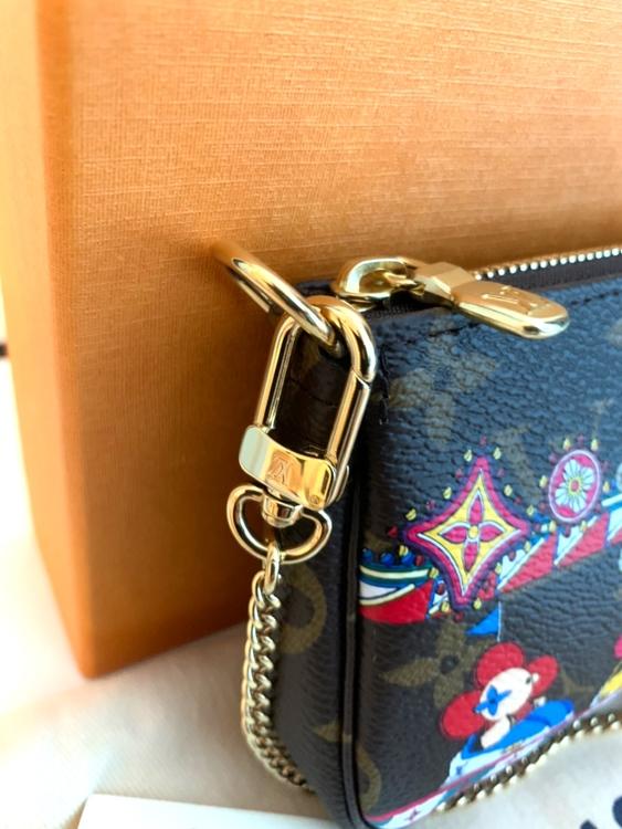 Louis Vuitton Mini Pochette X'mas 2020 Limited Edition