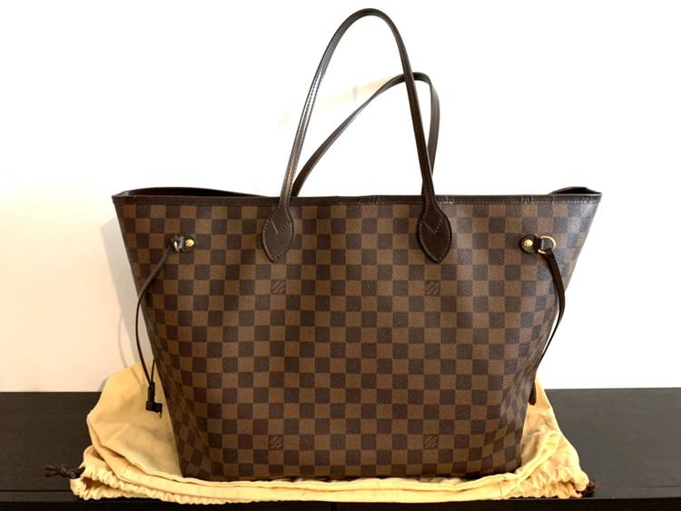 Louis Vuitton Neverfull Damier Ebene GM Bag