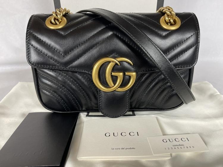 GG Marmont matelassé leather mini bag