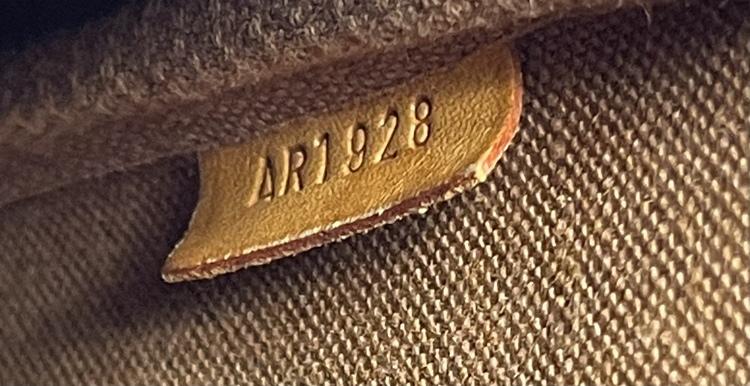 Vintage Louis Vuitton Pochette Accessoires Monogram Canvas With Long Strap