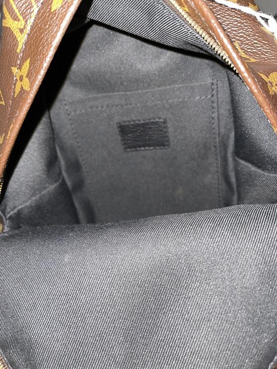 LV Monogram Canvas Palm Springs Mini Backpack Bag