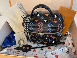 Louis Vuitton Game On Vanity PM Black Bag