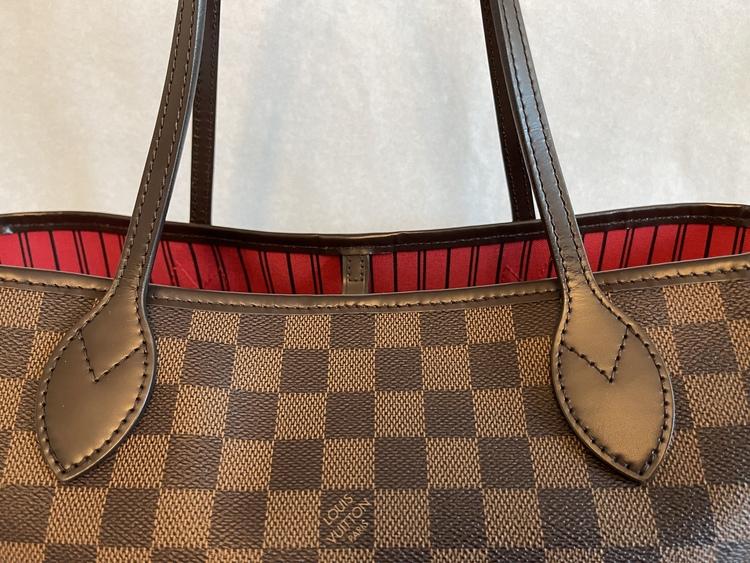 Louis Vuitton Neverfull MM Damier Ebene Bag