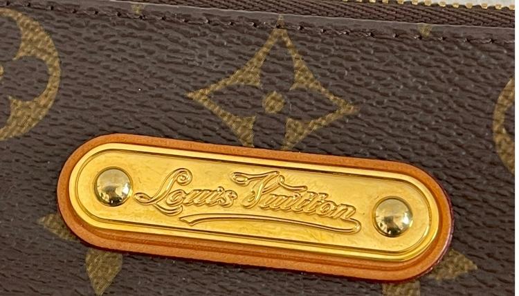 Louis Vuitton Eva Monogram Canvas Clutch/ Crossbody Bag