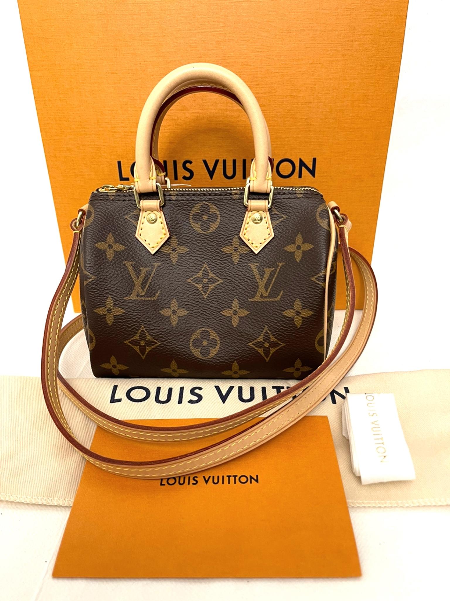 Louis Vuitton Speedy Nano Monogram Bag