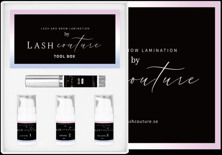 Lash and Brow Lamination Pump Kit