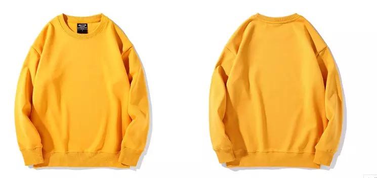 Fleece Sweater med eget tryck