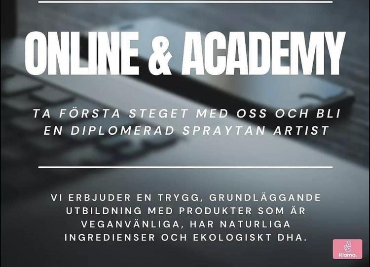 Spraytan utbildning online
