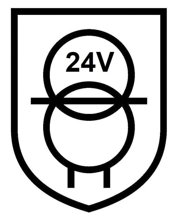 Puraluce Transformator 15W, 24V, IP20