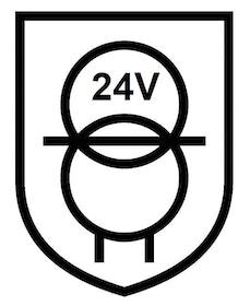 Puraluce Transformator 150W, 24V, IP20