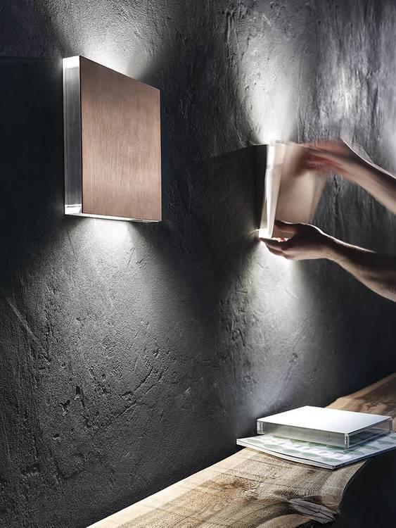 AB Arlemark AREA vägglampett från Puraluce perfekt där man vill ha det lilla extra