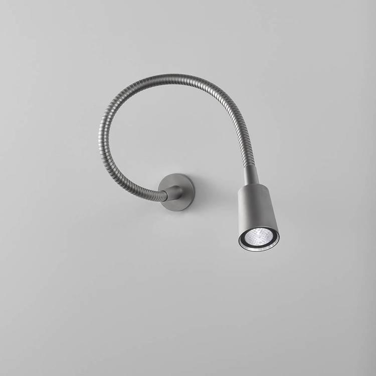 AB Arlemark LEDDI läslampa från Puraluce med palladium plättering