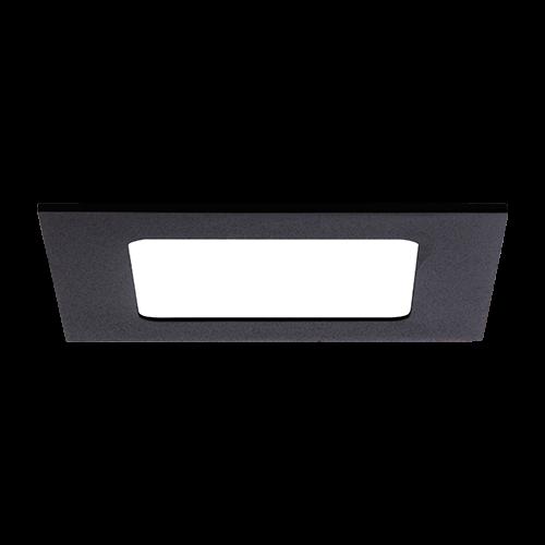 AB Arlemark 6W takpanel i aluminium från Lamptime med svart ram