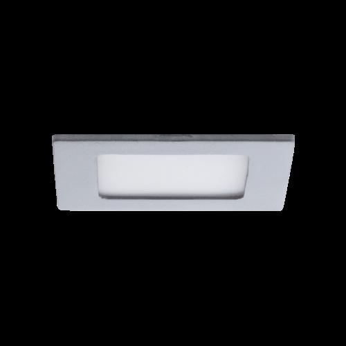 AB Arlemark 6W takpanel i aluminium från Lamptime med grå ram