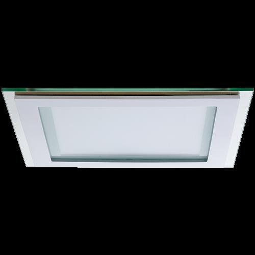 AB Arlemark Fyrkantig 12W LED panel med glasram från Lamptime