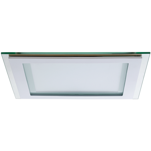 AB Arlemark Fyrkantig 16W LED panel med glasram från Lamptime