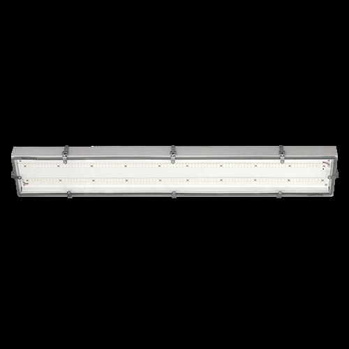 AB Arlemark linjär industriarmatur från Lamptime med härdat 5mm glas