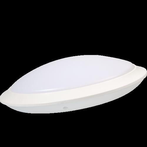 AB Arlemark takarmatur med sensor från Lamptime för korridorer och trappuppgångar