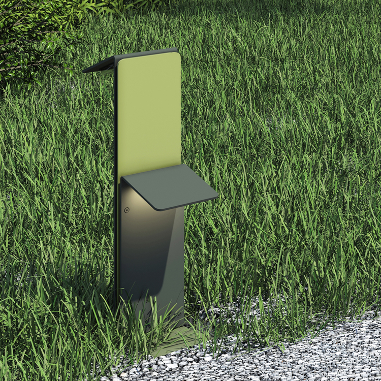 AB Arlemark Foglio 8W LED Trädgårdsbelysning från Puraluce Pollare
