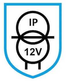 Puraluce Transformator 15W, 12V, IP67