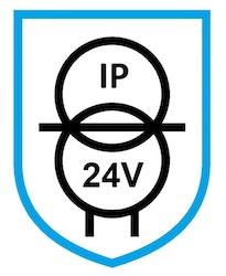 Puraluce Transformator 10W, 24V, IP67