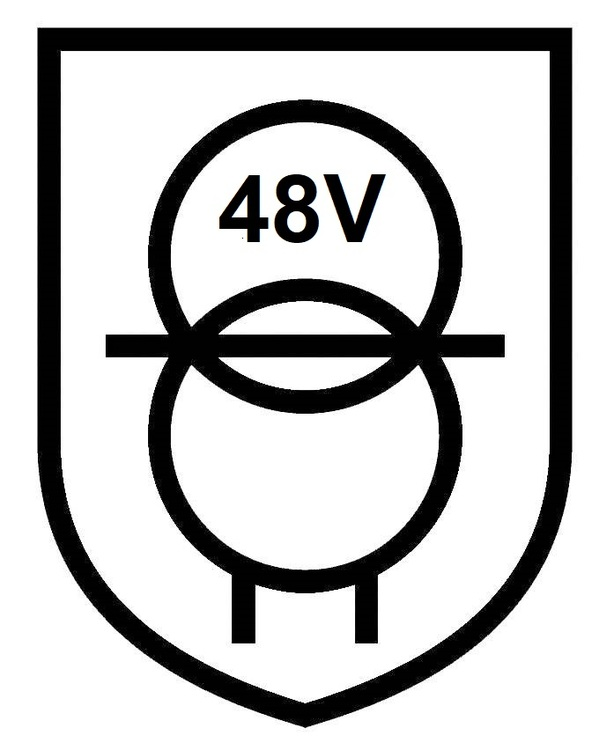 Puraluce Transformator 150W, 48V, IP20