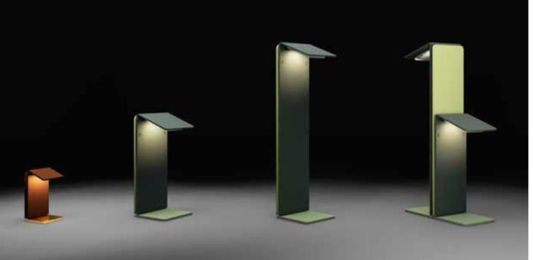 AB Arlemark Foglio 8W LED Trädgårdsbelysning från Puraluce Pollare Ljusbild