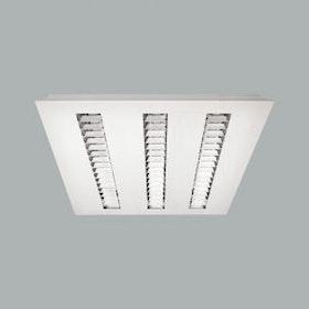 Baryon Emittor, 28W LED-armatur för systemtak