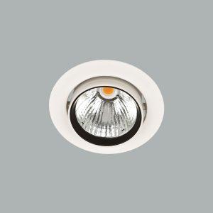 AB Arlemark Delta Flux infälld takspot som kan roteras tillverkad i lackerad aluminium