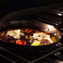"""GSI Outdoors Guidecast Frying Pan 12"""""""