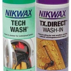 Nikwax Duo Pack (Tech Wash/TX.Direct) 300 ml