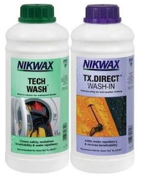 Nikwax Duo Pack Tech Wash/TX.Direct 1 Liter