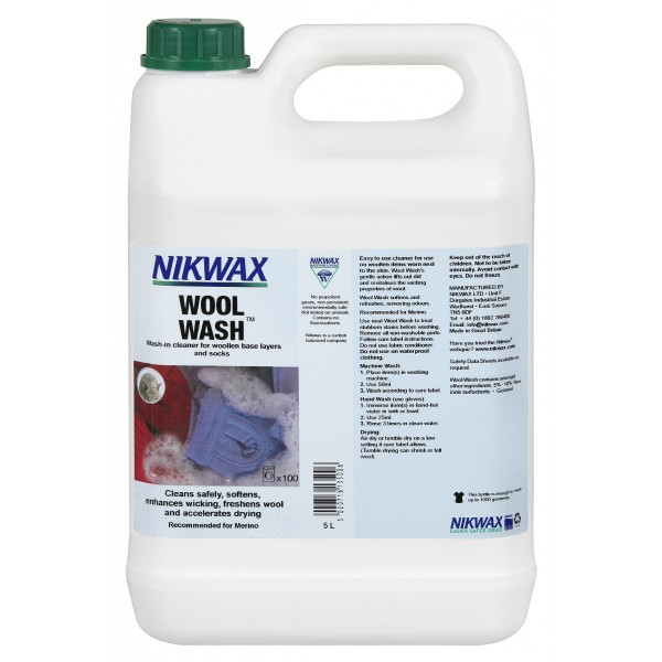 Nikwax Wool Wash 5 Liter