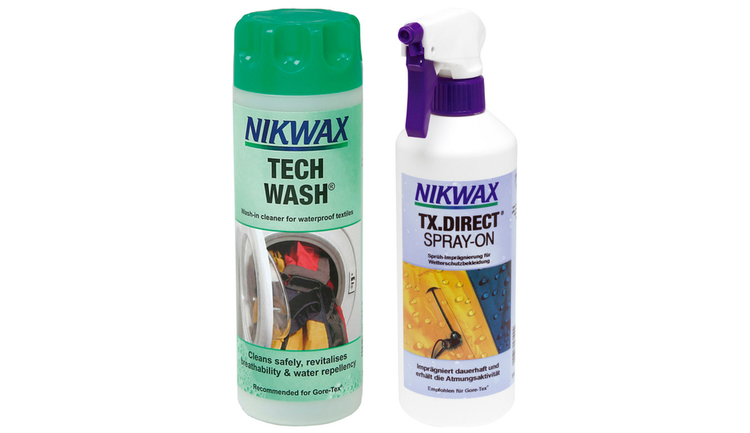 Nikwax Duo Pack (Tech Wash/TX.Direct Spray-On) 300 ml