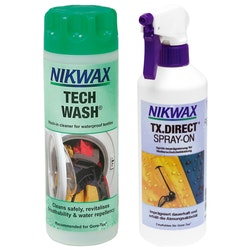 Nikwax Duo Pack (Tech Wash/TX.Direct Spray-On)