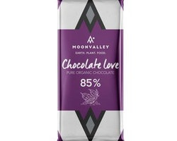 Moonvalley Pure Organic Chocolate Love – 85%