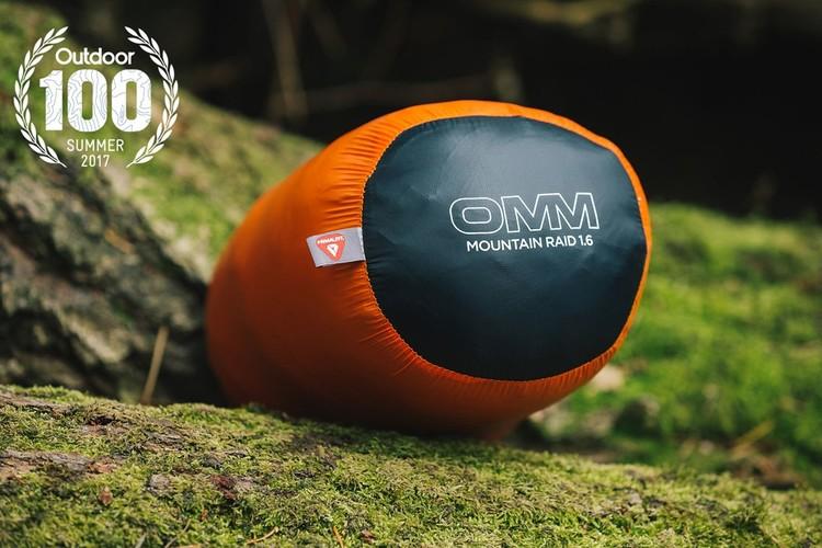 the OMM Mountain Raid 160
