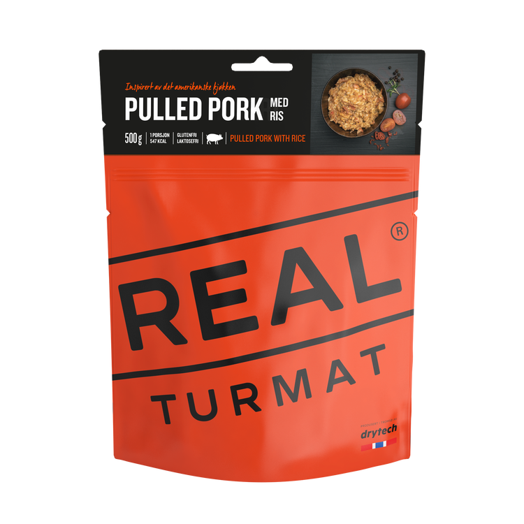 REAL Turmat Pulled Pork with Rice