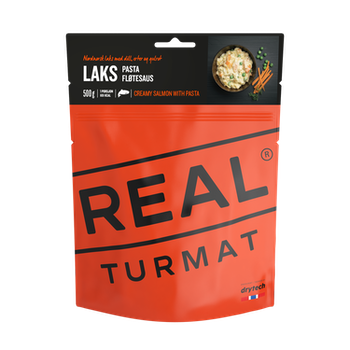 REAL Turmat Creamy Salmon with Pasta