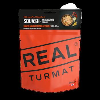 REAL Turmat Sqash and Sweet Corn Casserole